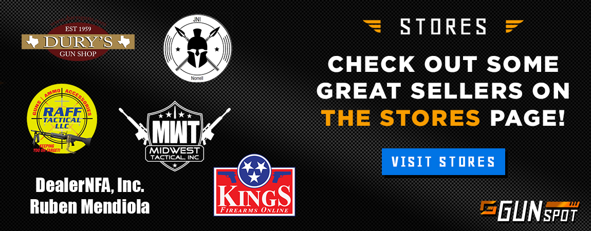 This ad promos the GunSpot.com store page